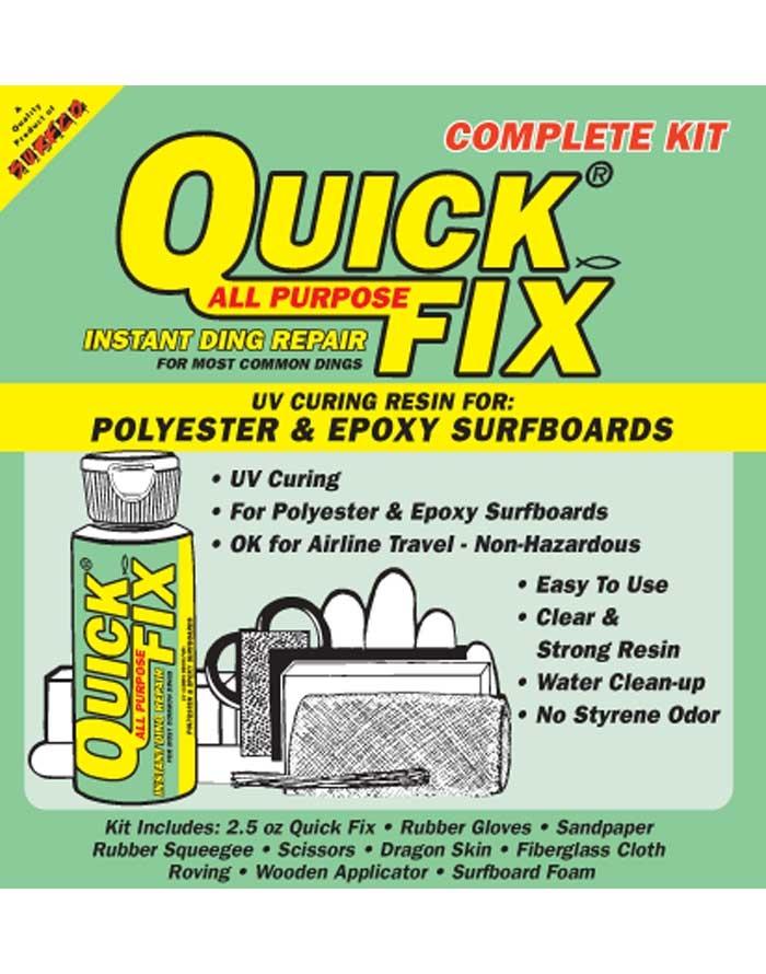 Quick Fix Travel Kit - NGH Surfboard ding repair kits