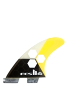 FCS II AM PC Small Yellow Tri Fins on sale