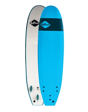 "Softech Handshaped 7'6"" Blue Soft Top Softboard-soft-HYDRO SURF"