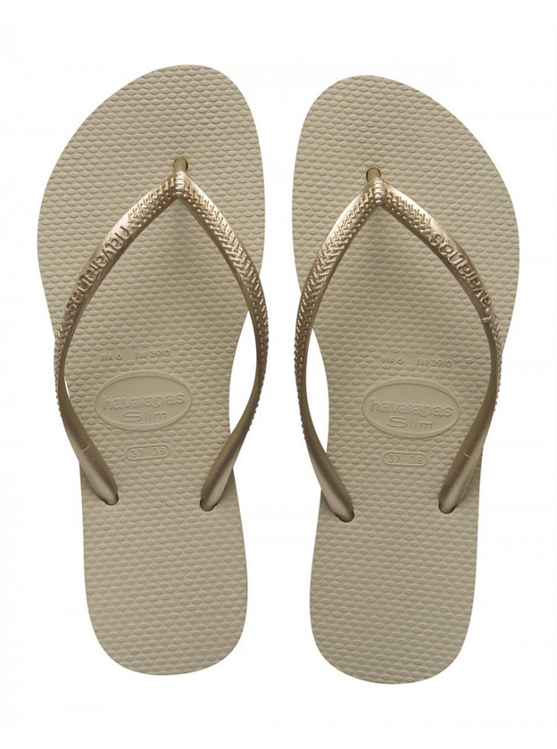 Havaianas Kids Slim Sand Gold on sale