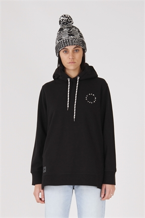 RPM Slouch Hood - Black-jumpers-HYDRO SURF