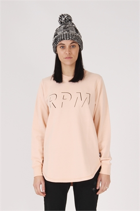 RPM Shaddow Crew - Peach-jumpers-HYDRO SURF