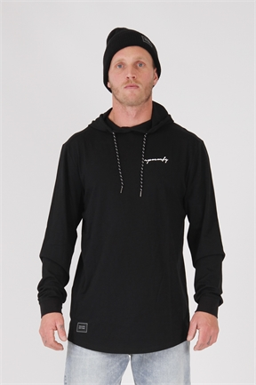 RPM Miami Lightweight Hood - Black-jumpers-HYDRO SURF