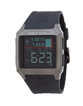 Rip Curl Rifles Stainless Steel Tide Gunmetal-watches-HYDRO SURF