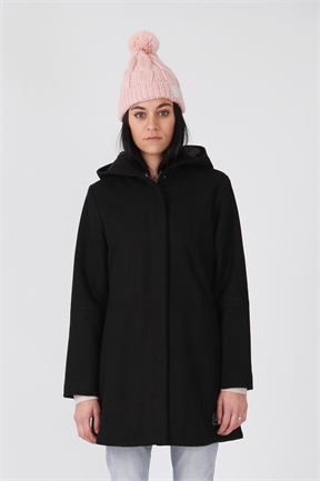 RPM Monroe Overcoat - Black-jackets-HYDRO SURF