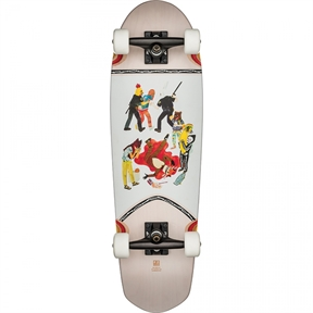 Globe Pusher Stacey Rozich Featured Artwork - ltd edition-skate-HYDRO SURF