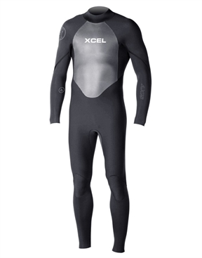 Xcel Axis 4x3mm OS Zip Steamer Wetsuit-men-winter-HYDRO SURF