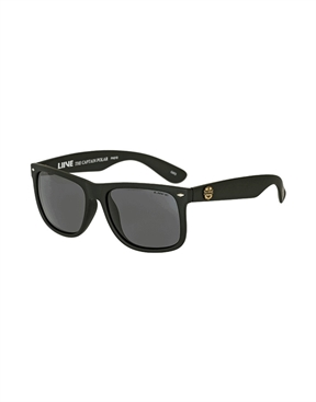 Liive The Captain Sunglasses - Polarised - Matt Black-eyewear-HYDRO SURF