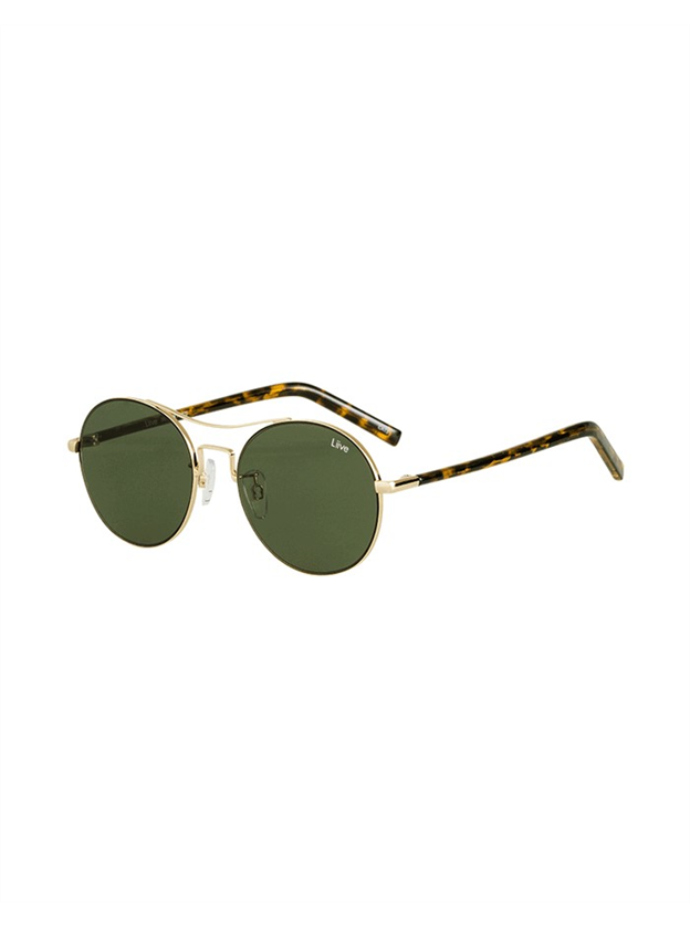 Liive Berlin Sunglasses - Gold