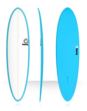 "Torq Mod Fish 7'2"" Surfboard Colour Pinline-fun-HYDRO SURF"