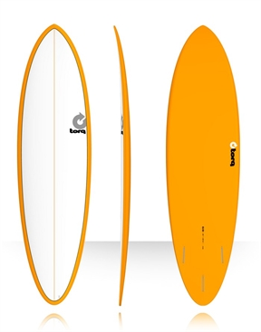 "Torq Mod Fun 6'8"" Surf Board Colour Pinline -fun-HYDRO SURF"