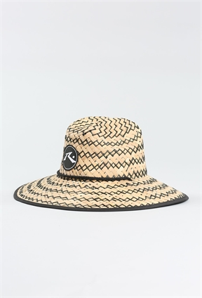 Rusty Boony Straw Weave Hat-womens-HYDRO SURF
