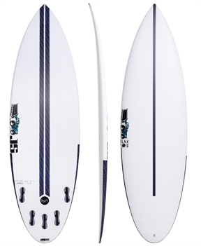 JS HYFI BB2 5'11 Round Tail Surfboard-short-HYDRO SURF