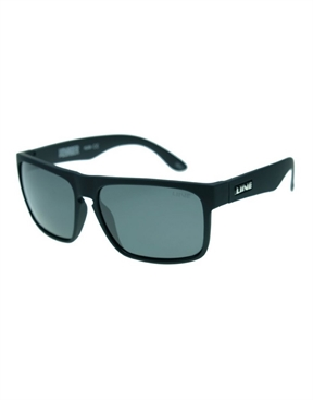 Live Voyager Sunglasses - Polarised - Matte Black Rubber-eyewear-HYDRO SURF