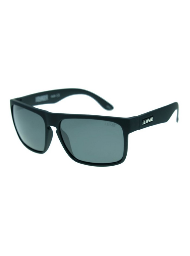 Live Voyager Sunglasses - Polarised - Matte Black Rubber