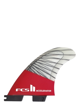 FCS II Accelerator PC Carbon Fins Tri Set -essential-HYDRO SURF