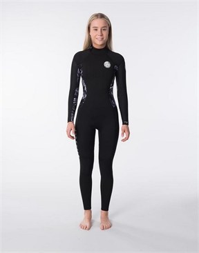 Rip Curl Womens 4x3mm Dawn Patrol Back Zip Wetsuit-women-winter-HYDRO SURF