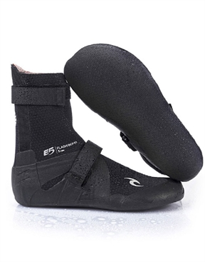Rip Curl Flashbomb 5mm Wetstuit Bootie Hidden Split Toe-boots-HYDRO SURF