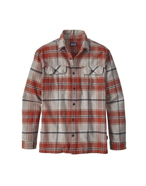 Patagonia Fjord Flannel Shirt Long Sleeved-shirts-HYDRO SURF