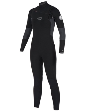 Rip Curl Flash Bomb 4x3mm Chest Zip Wetsuit - Womens-wetsuits-HYDRO SURF