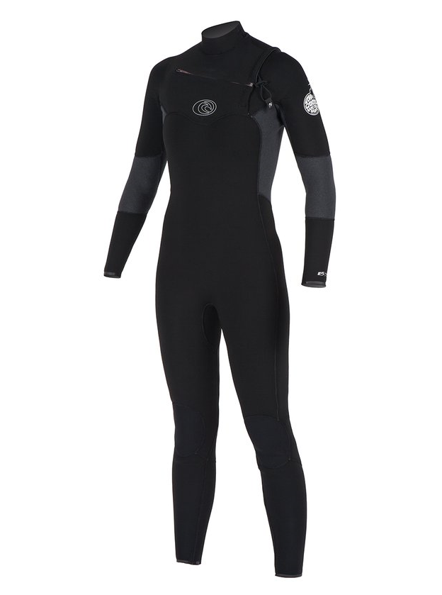 Rip Curl Flash Bomb 4x3mm Chest Zip Wetsuit - Womens