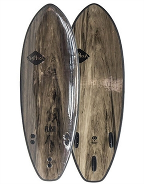 "Softech Flash 5'7"" DSS Marble Surfboard Softboard-soft-HYDRO SURF"