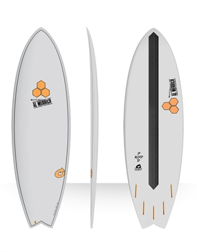 Torq 5'10 Channel Islands Pod Mod Fish Surfboard-short-HYDRO SURF