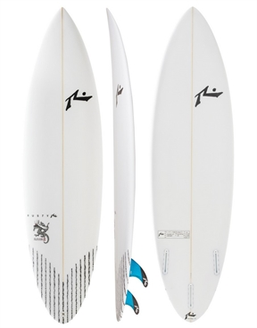 Rusty Slayer II Five Fin Surfboard - FCSII Slight Discolour on sale-rusty-HYDRO SURF