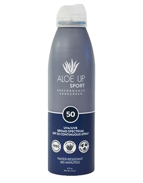 Aloe Up Sport SPF 50 Sunscreen Spray 177ml-accessories-HYDRO SURF