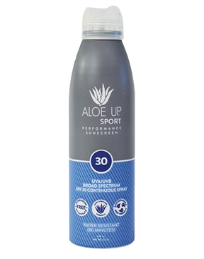 Aloe Up Sport SPF 30 Sunscreen Spray 177ml-accessories-HYDRO SURF