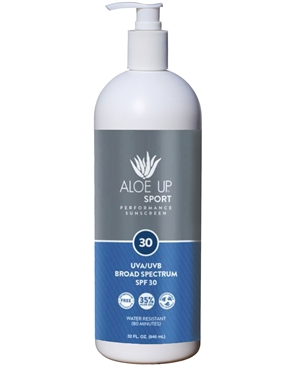 Aloe Up Sport SPF 30 Sunscreen 950ml pump-accessories-HYDRO SURF