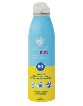Aloe Up Lil' Kids SPF 50 Sunscreen Spray 177ml-accessories-HYDRO SURF