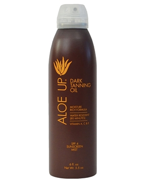 Aloe Up SPF 4 Dark Tanning Oil Spray-sun-care-HYDRO SURF