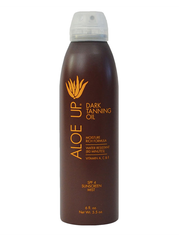 Aloe Up SPF 4 Dark Tanning Oil Spray