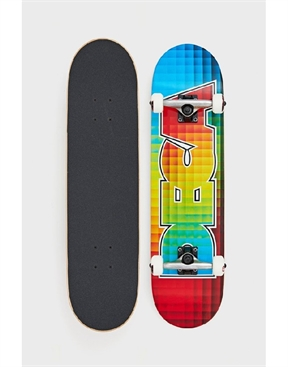 "Deca Colour Blocks Skateboard Complete 8.0""-skate-HYDRO SURF"