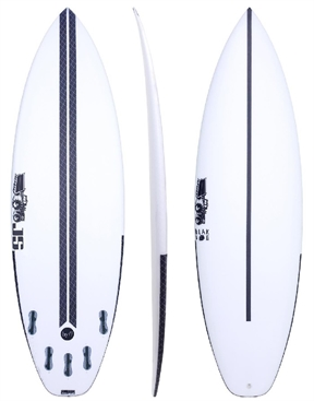 JS HYFI BBII - Black Box 2 Squash Tail Surfboard - FCS2-short-HYDRO SURF
