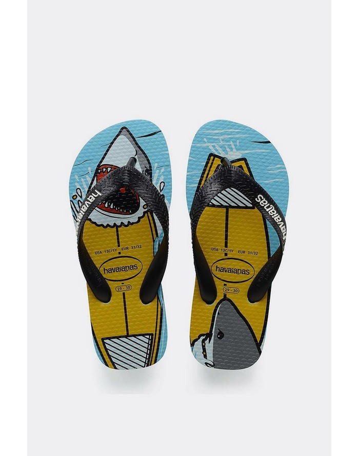 9a6d812a55924 Havaianas Kids Top Play Ice Blue Shark Jandals - Havaiana and Reef Jandles  - HAVAIANAS S18