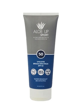 Aloe Up Sport SPF 50 177ml Sunscreen-accessories-HYDRO SURF