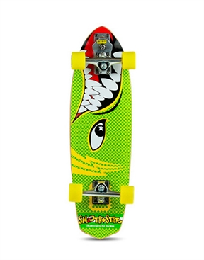 "Smoothstar Barracuda 30"" Skateboard Complete-skate-boards-HYDRO SURF"