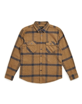 8cfafe73d5 Brixton Bowery Flannel Long Sleeved Shirt-shirts-HYDRO SURF