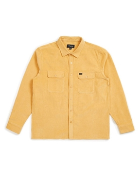 Brixton Archie Corduroy Long Leeved Shirt-shirts-HYDRO SURF