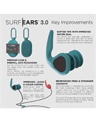 Surf Ears 3.0 Ear Plugs