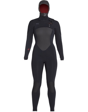 Xcel Ladies Drylock 5x4mm Hooded Full Wetsuit on sale-women-winter-HYDRO SURF
