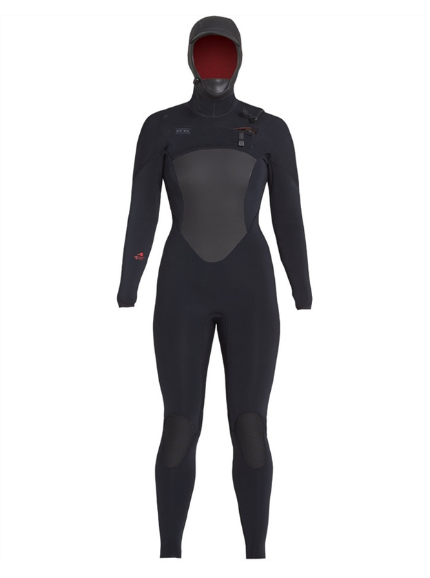 Xcel Ladies Drylock 5x4mm Hooded Full Wetsuit on SALE