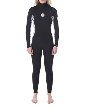 Rip Curl Dawn Patrol 4x3mm Chest Zip Wetsuit - Womens-women-winter-HYDRO SURF
