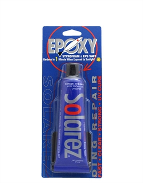 Solarez Epoxy UV Cure Surfboard Ding Repair Resin - EPS Safe - 60ml-hardware-HYDRO SURF