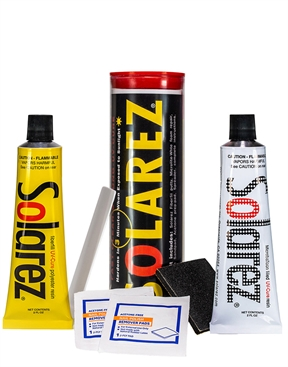 Solarez Polyester Microlite White UV Cure Ding Repair - Econo Kit 60mls Each-solarez-HYDRO SURF