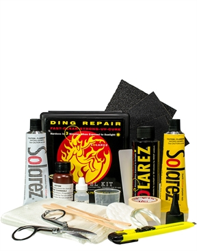Solarez Polyester Resin UV Cure Surfboard Ding Repair - Pro Travel Kit-solarez-HYDRO SURF