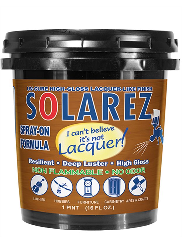 Solarez I Can't Beleive It's Not Laquer Finishing Resin - 435ml