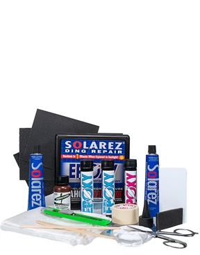 Solarez Epoxy Resin UV Cure Surfboard Ding Repair - Pro Travel Kit-hardware-HYDRO SURF